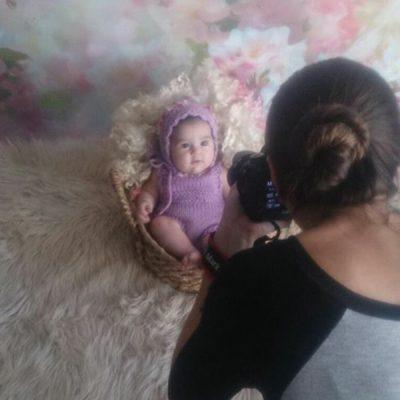 Backstage sesiones de fotos de recien nacido y embarazo estudio Pieceofme