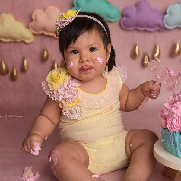 Smash Cake sesiones de fotos