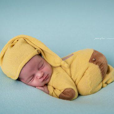 Mateo – Sesiones de fotos para recién nacidos varones