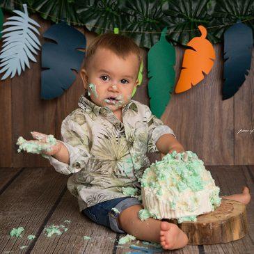 Book de fotos de primer añito con Smash Cake – Beltrán