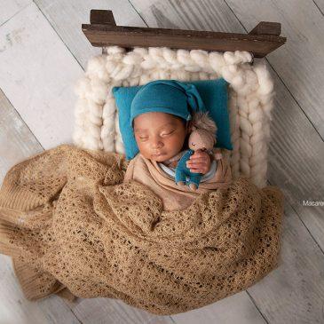Martín – book de fotos bebe recién nacido varón
