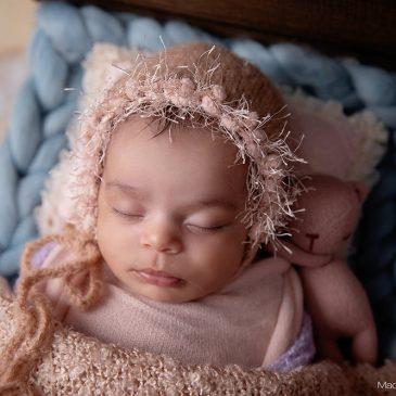Eliza – book de fotos de bebe recien nacido nena