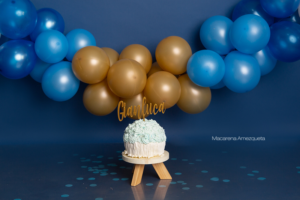 Smash Cake Gianluca