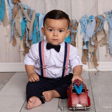 Fotos de bebes varones – Lorenzo primer añito