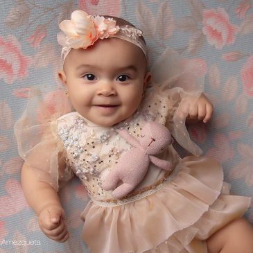 Sesión de fotos para niña de 2 a 6 meses – Abril